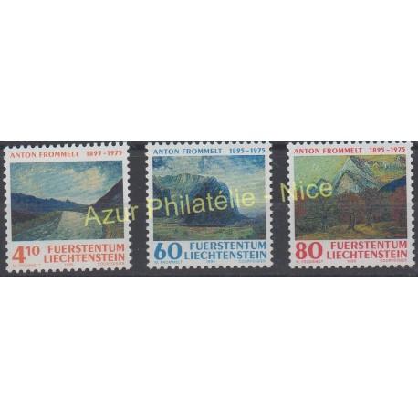 Liechtenstein - 1995 - No 1049/1051 - Peinture