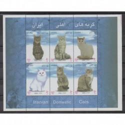Iran - 2004 - Nb 2701/2706 - Cats