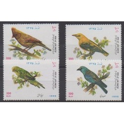 Iran - 1996 - No 2430/2433 - Oiseaux