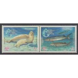 Iran - 2003 - No 2660/2661 - Animaux marins - Environnement