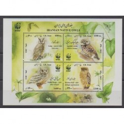 Iran - 2011 - Nb BF44 - Birds - Endangered species - WWF