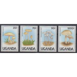 Uganda - 1991 - Nb 765A/765D - Mushrooms