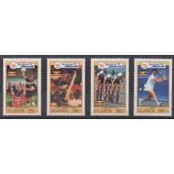 Ouganda - 1992 - No 904/907 - Jeux Olympiques d'été
