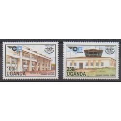 Uganda - 1994 - Nb 1153/1154 - Planes