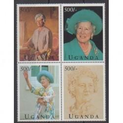 Ouganda - 1995 - No 1227/1230 - Royauté - Principauté