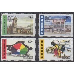 Uganda - 1995 - Nb 1255/1258
