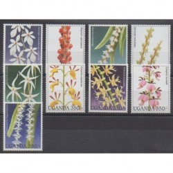 Uganda - 1995 - Nb 1330/1338 - Orchids