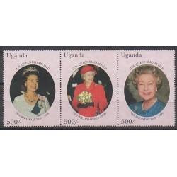 Uganda - 1996 - Nb 1409/1411 - Royalty