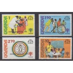 Uganda - 1979 - Nb 214/217
