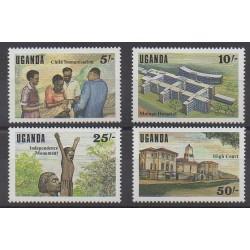 Uganda - 1987 - Nb 462/465