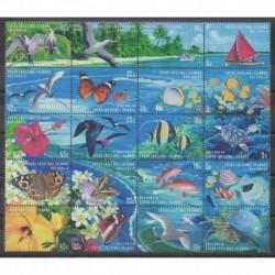 Cocos (Island) - 1999 - Nb 356/375 - Sea animals
