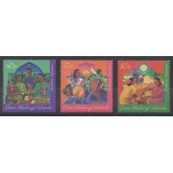 Cocos (Island) - 1996 - Nb 324/326 - Folklore