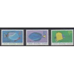 Cocos (Island) - 1995 - Nb 321/323 - Sea animals