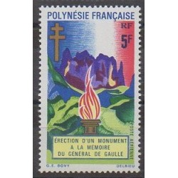 Polynésie - Poste aérienne - 1971 - No PA46 - De Gaulle