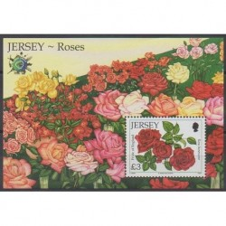 Jersey - 2010 - No BF106 - Roses - Philatélie