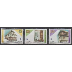 Bosnie-Herzégovine - 1997 - No 241/243 - Architecture
