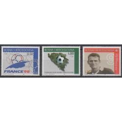 Bosnie-Herzégovine - 1998 - No 269/271 - Coupe du monde de football
