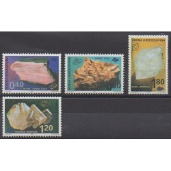 Bosnia and Herzegovina - 1999 - Nb 301/304 - Minerals - Gems