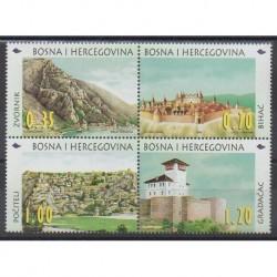 Bosnia and Herzegovina - 1998 - Nb 257/260 - Tourism