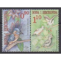 Bosnie-Herzégovine - 2001 - No 336/337 - Oiseaux
