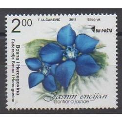 Bosnie-Herzégovine - 2011 - No 648 - Fleurs