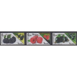 Bosnia and Herzegovina - 2015 - Nb 730/732 - Fruits or vegetables