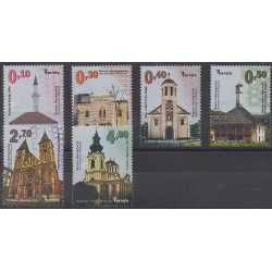 Bosnie-Herzégovine - 2014 - No 711/716 - Églises
