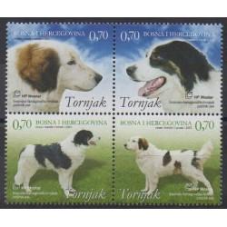 Bosnia and Herzegovina Herceg-Bosna - 2007 - Nb 173/176 - Dogs