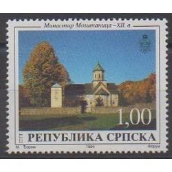 Bosnie-Herzégovine République Serbe - 1994 - No 38 - Églises