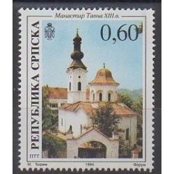 Bosnie-Herzégovine République Serbe - 1994 - No 36 - Églises
