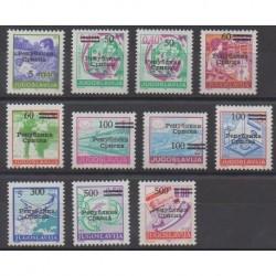 Bosnie-Herzégovine République Serbe - 1992 - No 1/11 (sauf 1A)