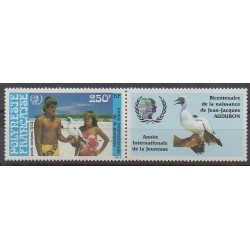 Polynesia - Airmail - 1985 - Nb PA188 - Birds