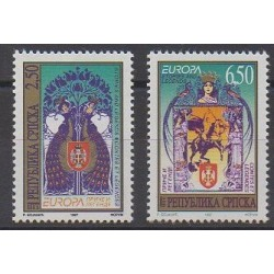 Bosnia and Herzegovina Serbian Republic - 1997 - Nb 69/70 - Literature - Europa