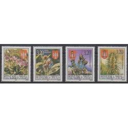 Bosnie-Herzégovine République Serbe - 1997 - No 56/59 - Fleurs
