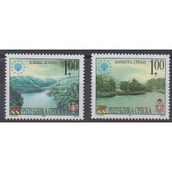 Bosnia and Herzegovina Serbian Republic - 2001 - Nb 207/208 - Environment