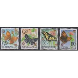 Bosnie-Herzégovine République Serbe - 2001 - No 185/188 - Insectes