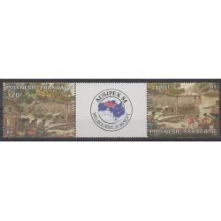 Polynesia - Airmail - 1984 - Nb PA184/PA185