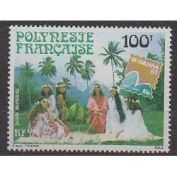 Polynesia - Airmail - 1983 - Nb PA176 - Folklore