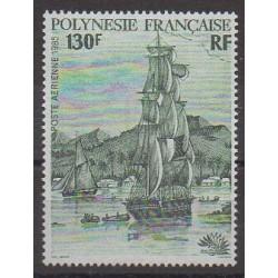 Polynesia - Airmail - 1985 - Nb PA189 - Boats