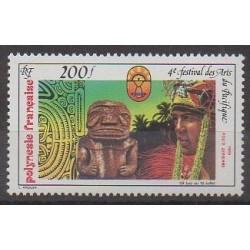 Polynesia - Airmail - 1985 - Nb PA187 - Art