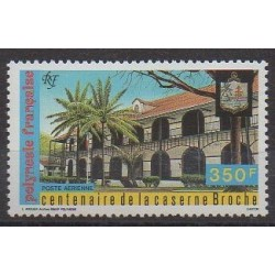Polynesia - Airmail - 1987 - Nb PA196 - Monuments