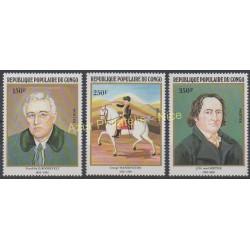 Congo (République du) - 1982 - No 667/669 - Peinture