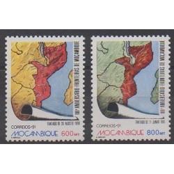 Mozambique - 1991 - No 1207/1208 - Histoire