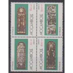 Mozambique - 1992 - No 1213/1216 - Art