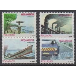 Mozambique - 1993 - No 1245/1248 - Environnement