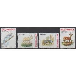 Mozambique - 1995 - No 1296/1299 - Mammifères