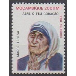 Mozambique - 1998 - No 1370A - Célébrités
