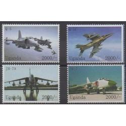 Uganda - 2009 - Nb 2262/2265 - Planes