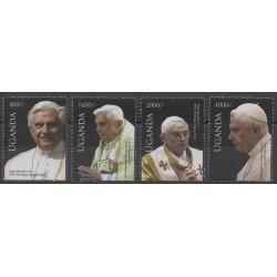 Uganda - 2010 - Nb 2273/2276 - Pope