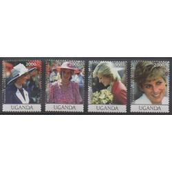 Uganda - 2009 - Nb 2258/2261 - Royalty